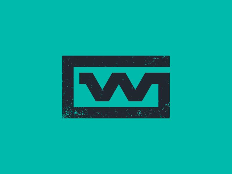 GW gw investment real estate lettermark monogram typography mark branding logo minimal