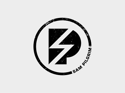 Sam Pilgrim v.01 downhill mtb freeride lettermark monogram golden ratio typography symbol icon mark branding logo minimal