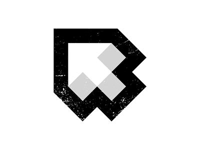 R↖️ reverse back design lettermark monogram typography symbol icon mark branding logo minimal