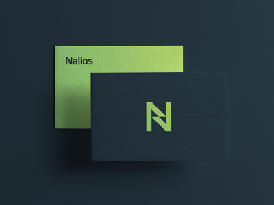Nalios - Businesscards sport implement consulting optimize startupbusiness startup construction digital project management sationary businesscard symbol mark typography branding logo minimal