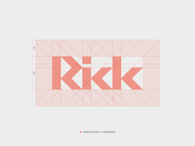Rick Bikes - details typography mark cycling logo branding minimal dynamic speed technology construction e-bike ebike gravel roadbike mtb biking rick bikes bike