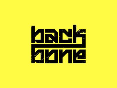 backbone (wip) minimal experimental typography typography extreme sport sport biking mtb bmx backbone