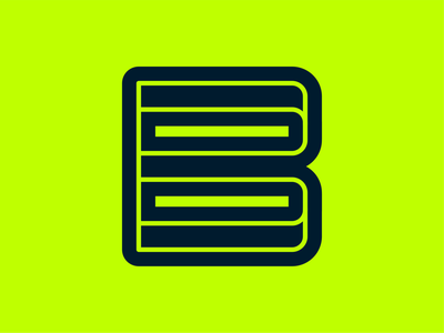 36days - B branding logo monogram minimal typedesign typography variablefont variable lettermark b 36days-adobe 36daysoftype08 36daysoftype