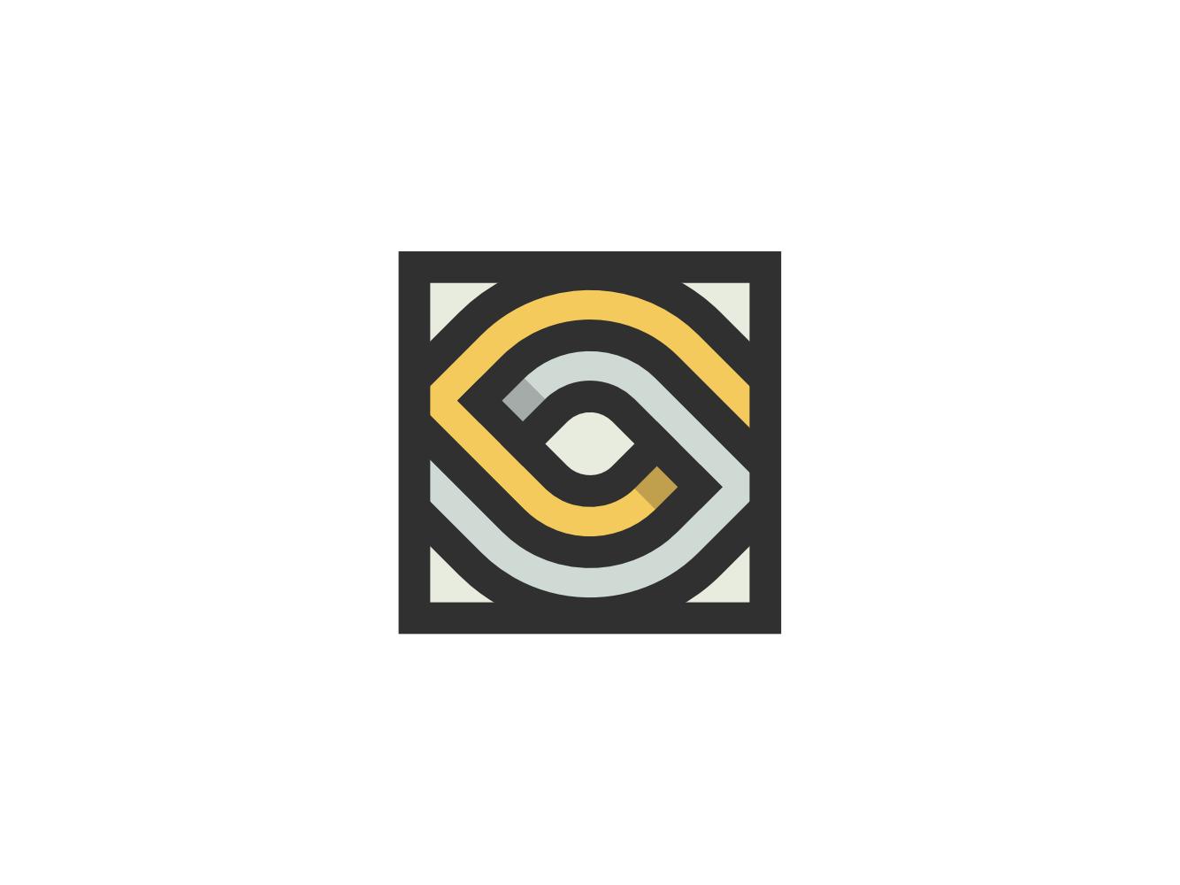 Eye 01 symbol mark icon golden ratio branding logo minimal abstract eye