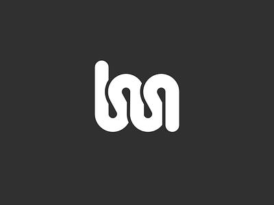lm Lettermark lettermark monogram typography symbol mark icon golden ratio branding logo minimal