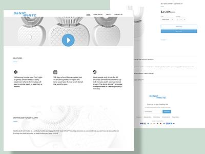 Snow White Website Design app website design web minimal brand ux website motion graphics 3d animation vector ui logo illustration icon graphic design design branding 3d art 2d