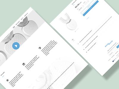 Snow White Landing page ui vector logo illustration icon graphic design design branding 3d art 2d
