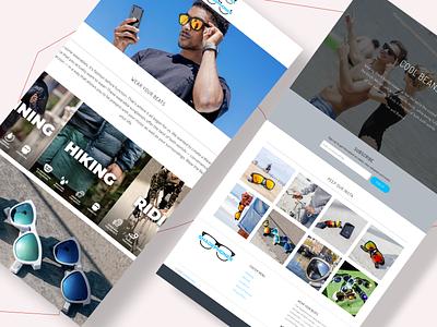 Shade Phones Website website motion graphics 3d animation vector ui logo illustration icon graphic design design branding 3d art 2d