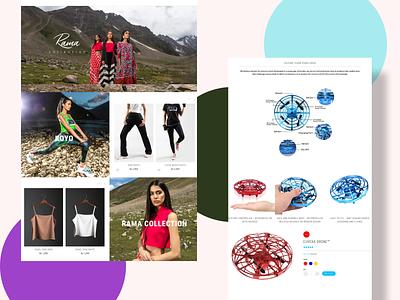 Website Landing pages! vector logo motion graphics animation ui 3d illustration icon graphic design design branding 3d art 2d
