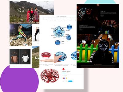 Website Landing Pages website vector logo motion graphics animation ui 3d illustration icon graphic design design branding 3d art 2d
