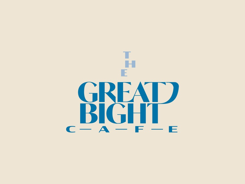 The Great Bight Cafe logo proposal