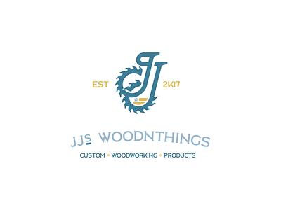 JJ's WoodnThings logo heritage family vintage custom blade saw woodworking wood
