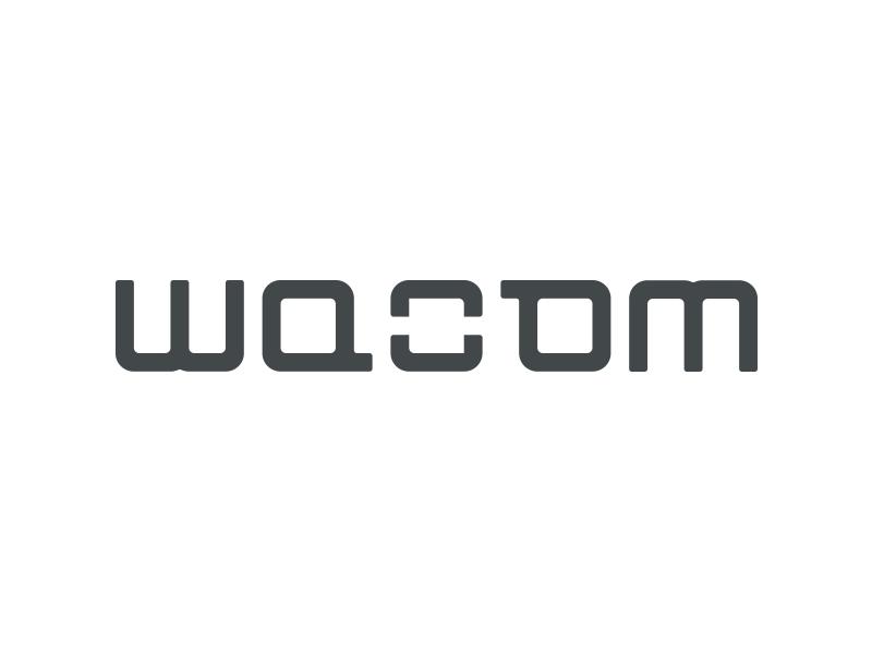 Wacom (re)brand rebrand marcus tiplea vectink vector ink wacom tablet logo ambigram font