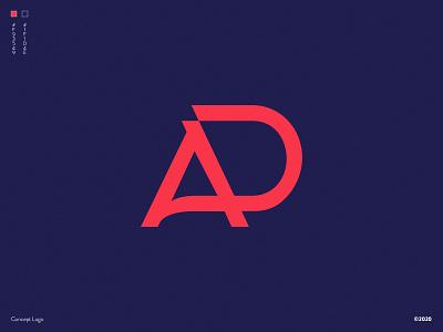 A+D LOGO CONCEPT 2 concert logo concept logo design d a design illustration vector turkey tasarım logo istanbul freelance designer branding concept