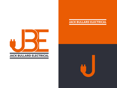 Jack Electrical electrician j plug logotpe vector illustration logo design logo design branding electrical