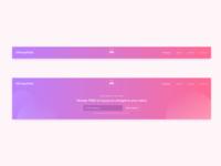Header UI Design