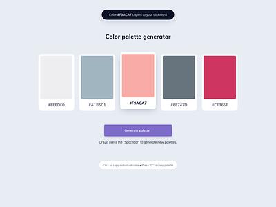 Color Palette Generator color palettes palette generator color generator color picker color scheme colors color palette color