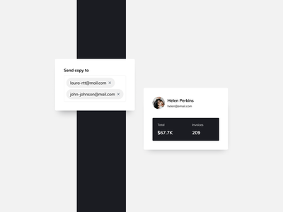 Payment Tool UI Components payment app components invoice ui practice daily ui dailyui ui pattern ux design ui design ildiesign ux ui