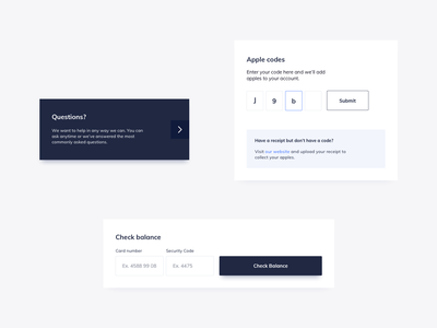 Membership UI Components Design dailyui ui pattern ux design ildiesign ui design input ui input form security verification code verification card design card ui cards ux ui