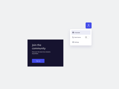 UI Components Design ui kit component ui practice ui pattern ui design daily ildiesign card design card ui subscribe dropdown ui components components