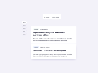 Features Page UI Component Designs ux design ui design daily ildiesign list design list ui list tab design tab ui tab menu ui design ux ui updates page features page features
