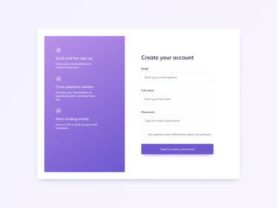 Sign Up UI Design ui kit daily ui ildiesign forms ui design daily ui components ui practice ui pattern ux design ui design authentication sign up form sign up form design form ui form