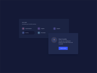 Dark Themed UI Components daily ui ui pattern ux design ui design dark dark theme ui dark ui design component design components dark ui components dark theme dark ui ildiesign ux ui