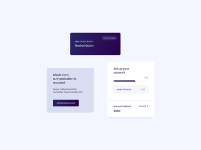 Cards UI Design cards design cards ui ui kit ui component design component design ui components ui design daily card design card ui cards