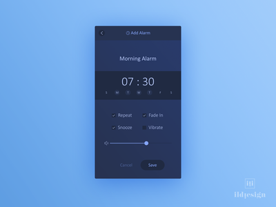 Alarm Ui Design add alarm ui practice daily ui ildiko ignacz alarm ildiesign ux ui