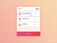 Cart UI Design