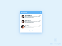 Notifications UI Design