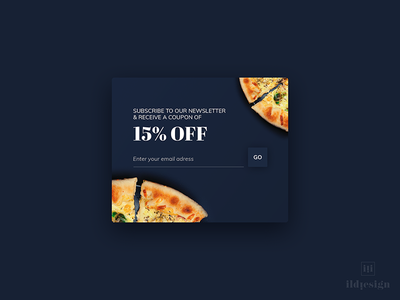 Subscribe UI Design