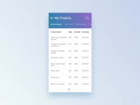 Projects Ui Design