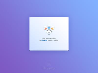 Upload File Ui Design