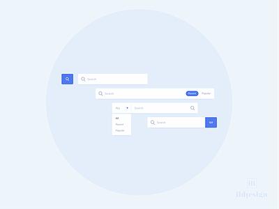 Search Bars UI Design search methods search ui ui pattern ildiko ignacz ux design ui design search ildiesign ux ui