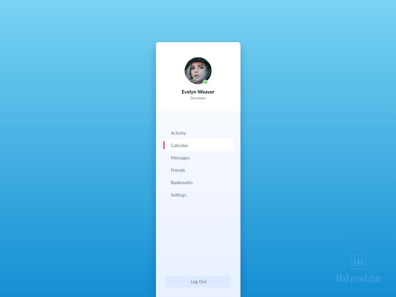 Menu UI Design web app tool ui invoice tool ui pattern ildiko ignacz ux design ui design menu invoice ildiesign ux ui
