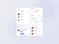 Social Media UI Kit Design