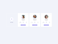 Users List UI Design