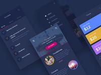 Carnival App UI Design