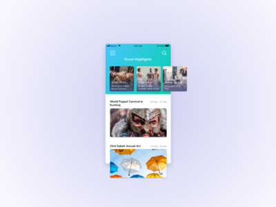 Events UI Design