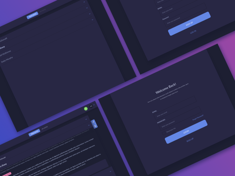 Notes UI Design kit ui ui kit ui pattern ildiko ignacz ux design ui design notes ildiesign ux ui