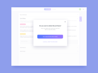 Pop Up UI Design