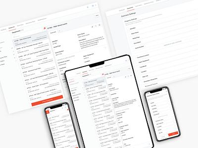 EAM Application UI Design eam tool management tool ui pattern ildiko ignacz ux design ui design eam management ildiesign ux ui