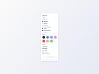 Filters UI Design