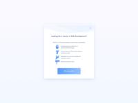 Get Guide Pop Up UI Design