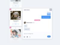 Conversation UI Design Concept