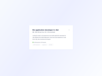 Project Card UI Design