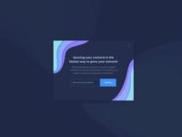 Sync Pop Up UI Design