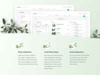 Plant Care App Features List Design