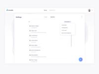 Scrumbs Members Filter UI Design